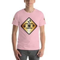 DMP Short-Sleeve Unisex T-Shirt - Color Sign Logo