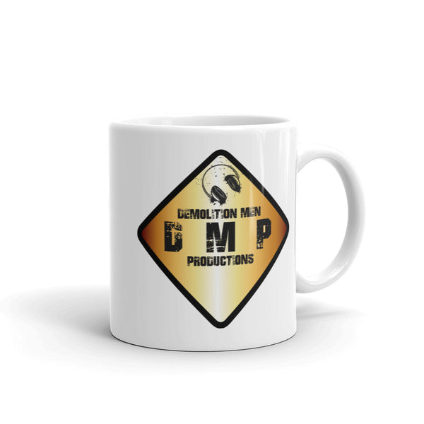 DMP White Mug - Color Sign Logo