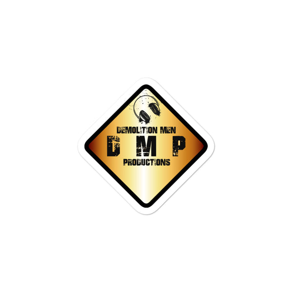 DMP Bubble-Free Stickers - Color Sign Logo