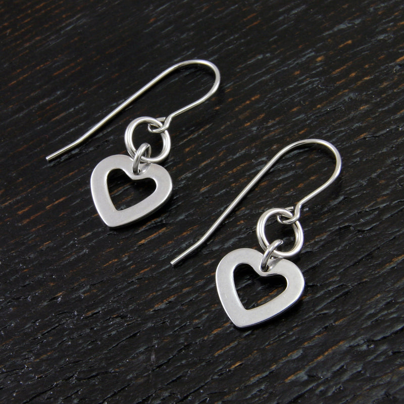 VALENTINE'S Single Heart Earrings