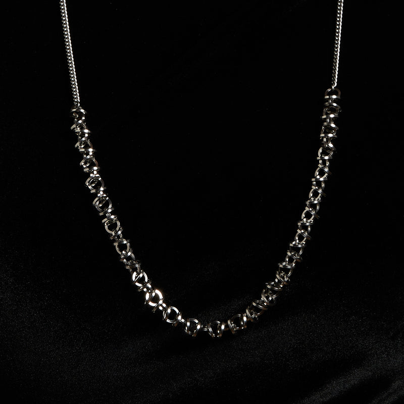 HALO Long Mini Architectural Section Necklace