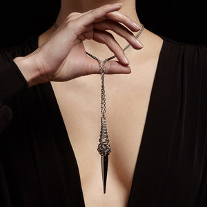 METAL Large Spike Pendant