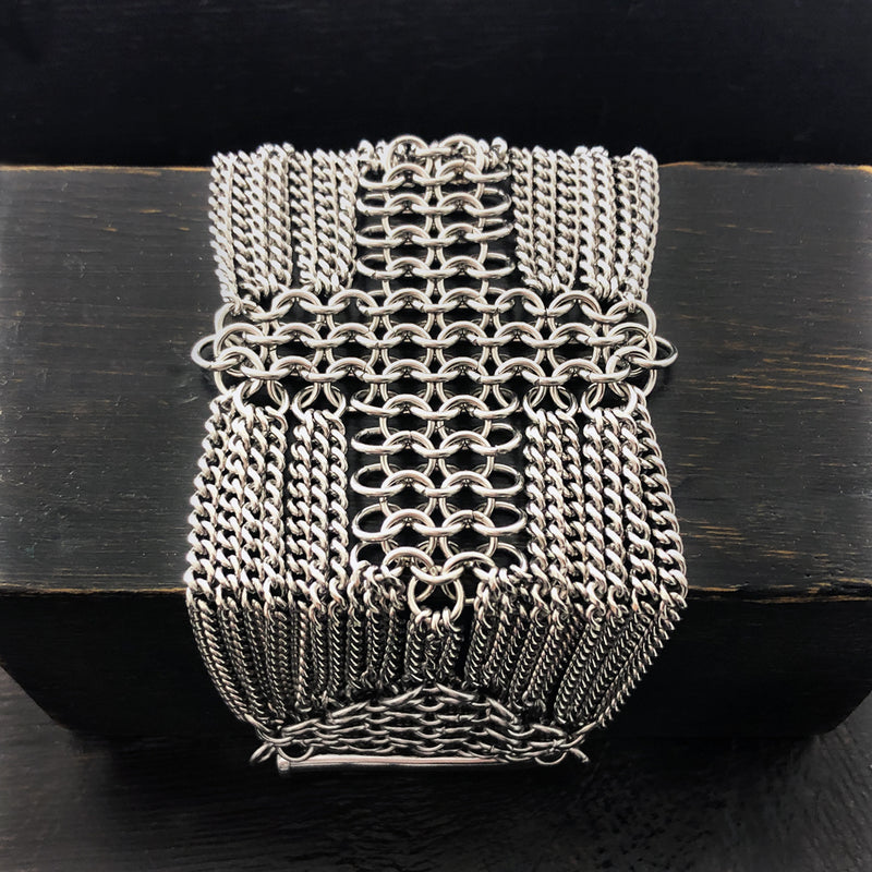 METAL Cross Cuff Bracelet