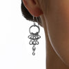 GLAM Tapered Chain Earrings
