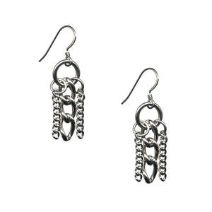 GLAM 3-Chain Earrings