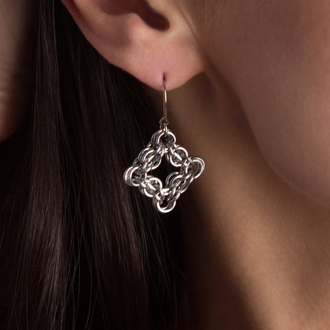 GOTHIC Diamond Earrings