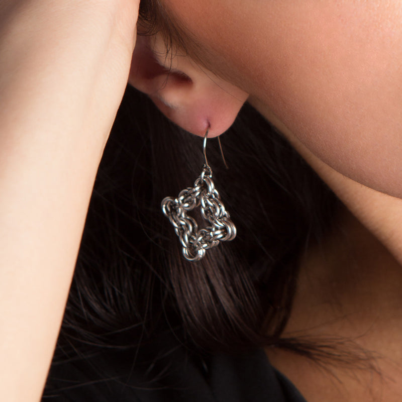 GOTHIC X-Small Diamond Earrings