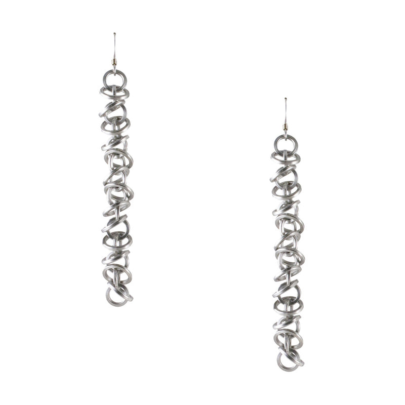 HALO Long Mini Architectural Earrings