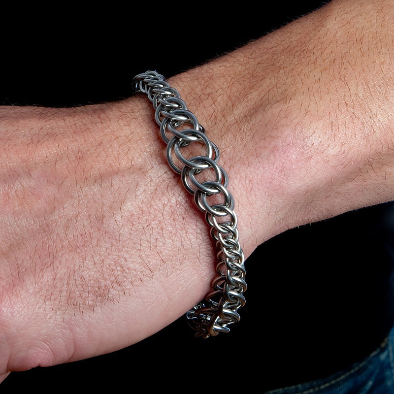 HIS Half-Persian Wave Bracelet