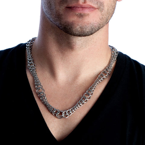 HIS Half-Persian Wave Necklace