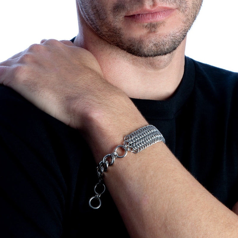 HIS Maille ID Bracelet