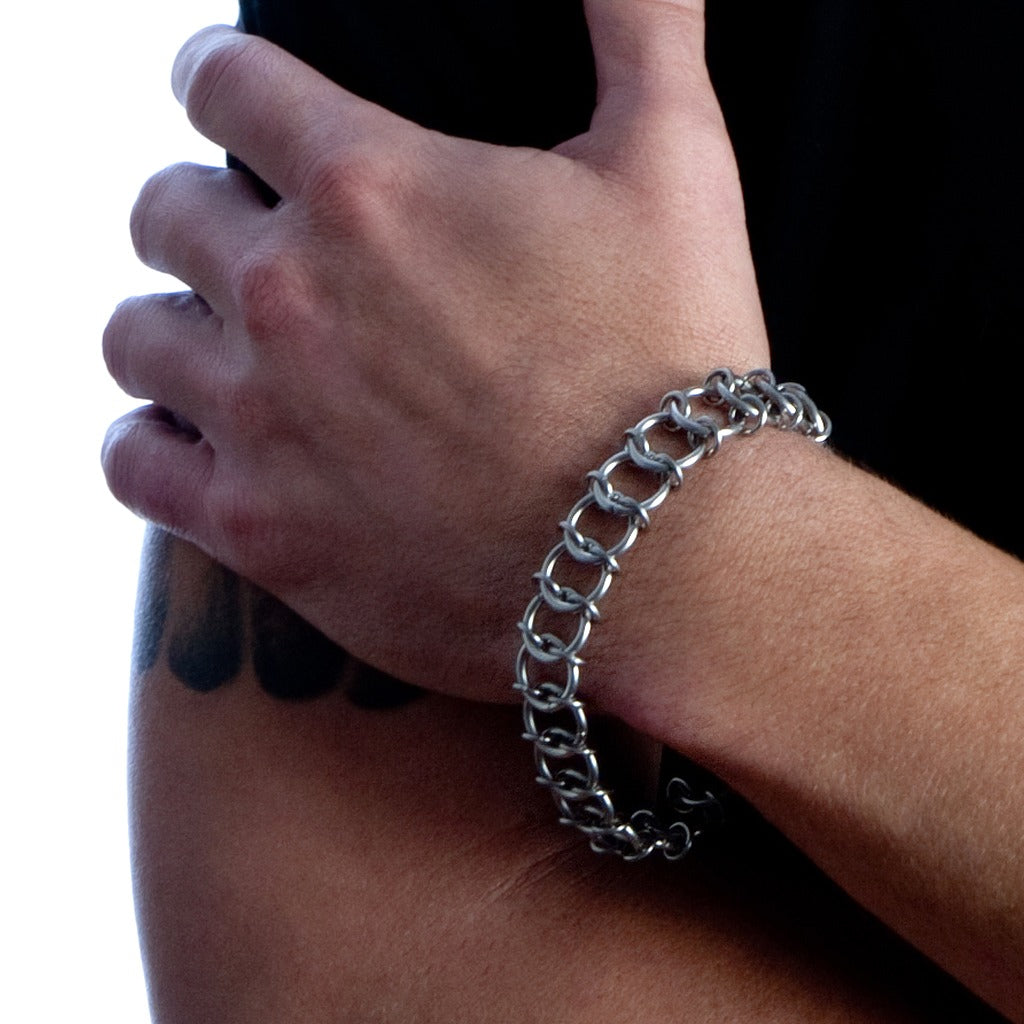 HIS One-Row Bracelet