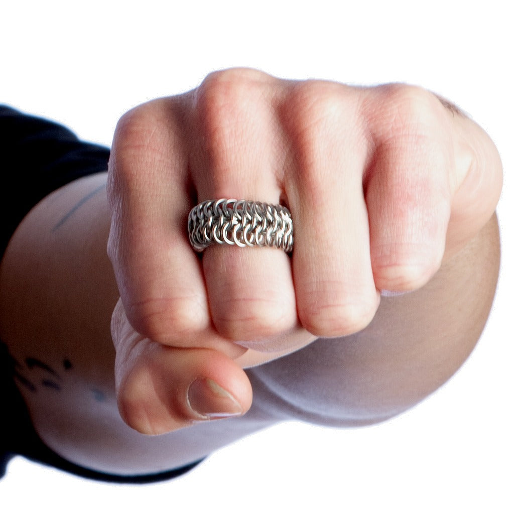 HIS Maille Band Ring