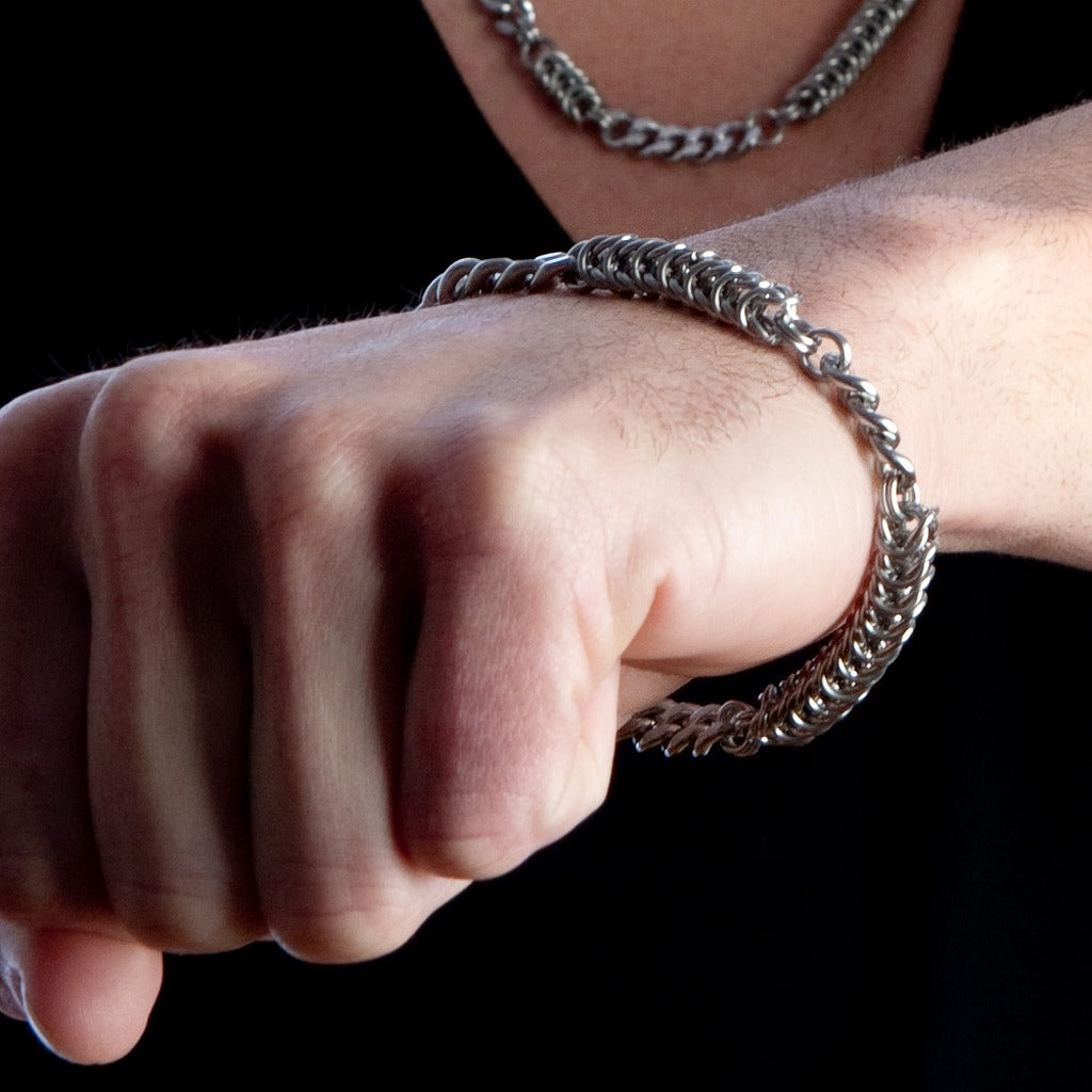 HIS Rope & Chain Bracelet