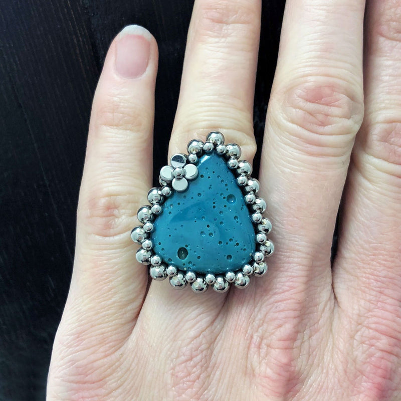 GEMSTONE Leland Blue Ring