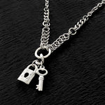 ROGUE Lock and Key Necklace
