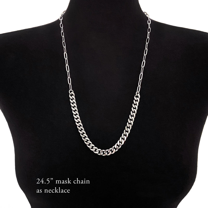 METAL Mask/Eyeglass/Necklace Chain