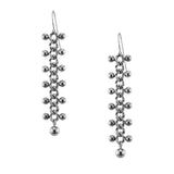 STRUCTURE Chain with Sphere Borders Earrings