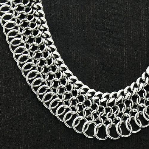 METAL Maille Collar
