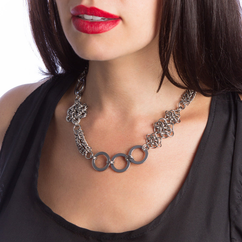 METAL Short Mashup Necklace