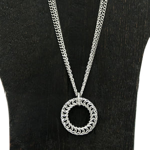 METAL Tire Pendant