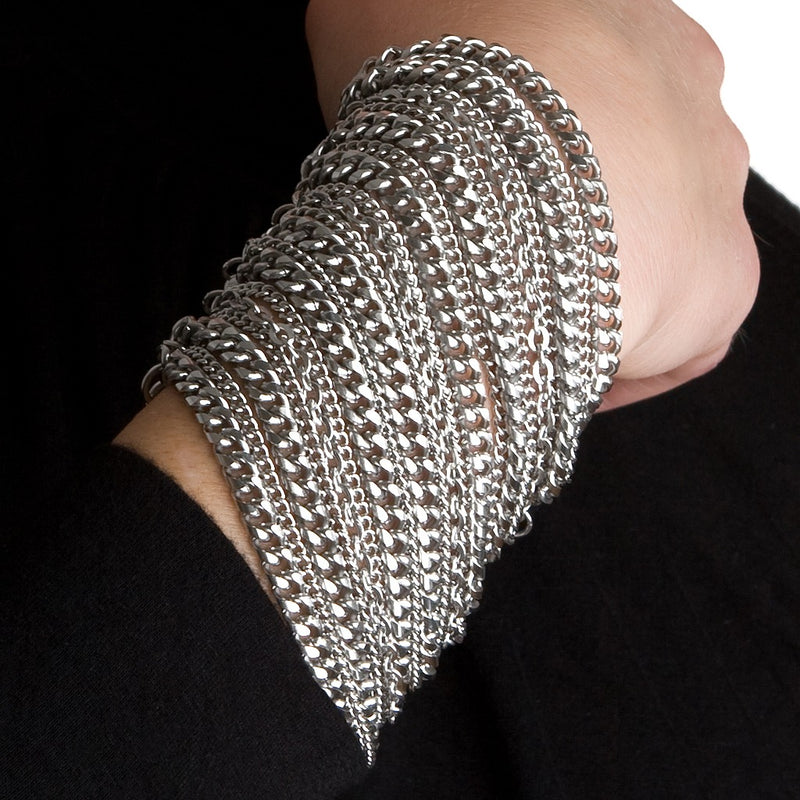METAL 8-Row Multi-Chain Bracelet