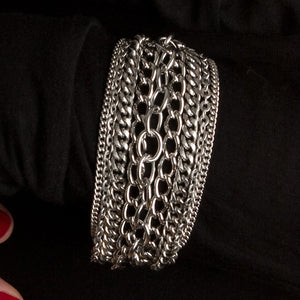 METAL Multi-Chain Ribbon Bracelet
