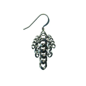 METAL Small 5-Chain Earrings
