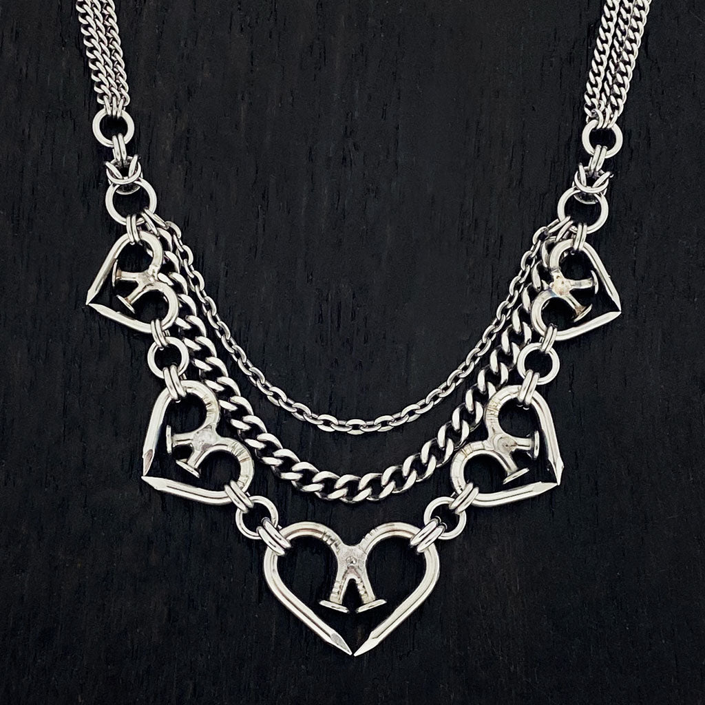 NAILMAILLE 5-Heart Necklace