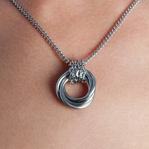 NEST Chain-Wrapped Pendant