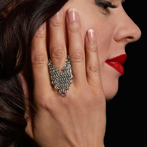 PURE Chevron Ring