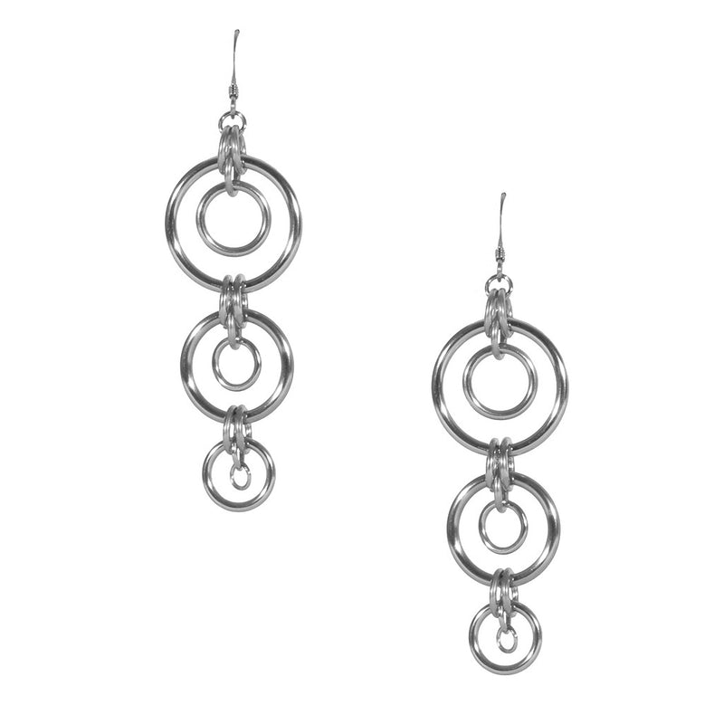 PURE Triple Planet Earrings