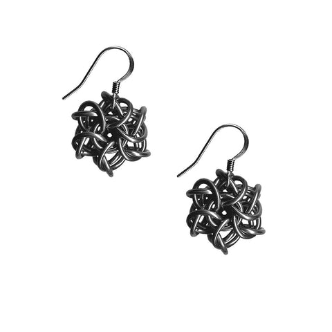 PURE Medium Knot Earrings