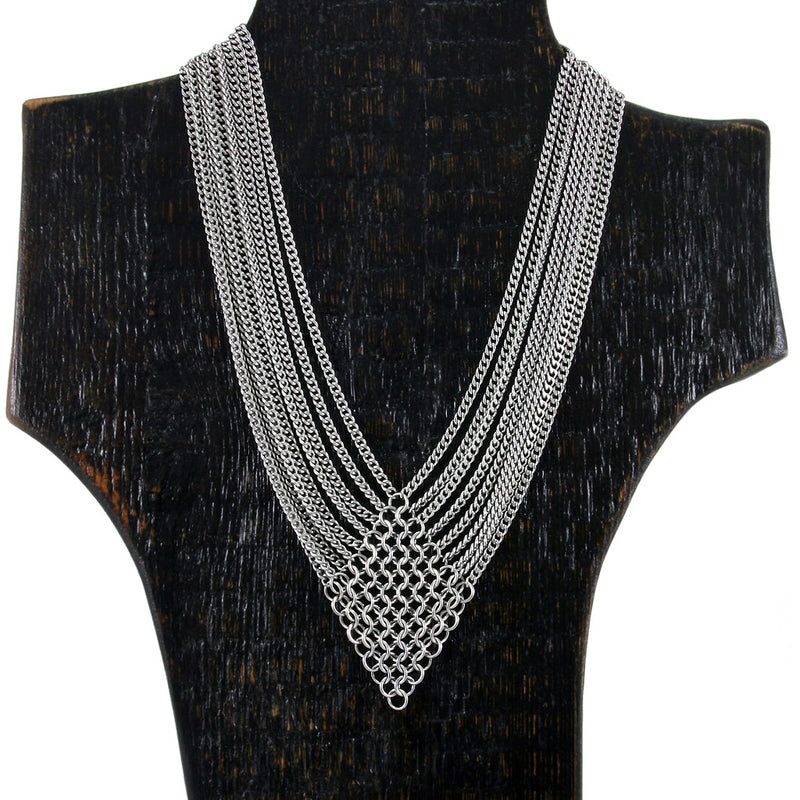 SLINKY Diamond & 9-Chain Necklace