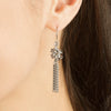SLINKY Knot & Tassel Earrings