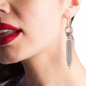 SLINKY Tie Earrings