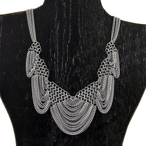 SLINKY Triangles & Scallops Necklace