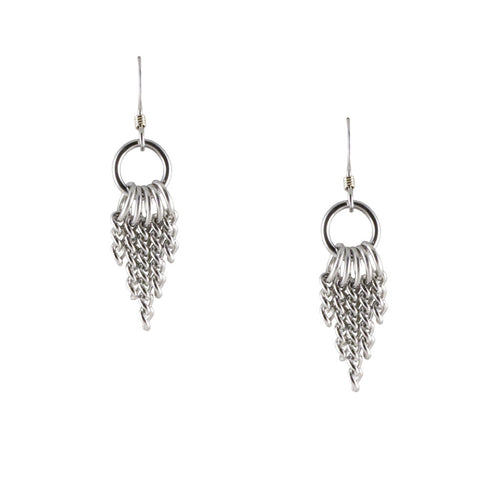 SLINKY 5-Chain Earrings