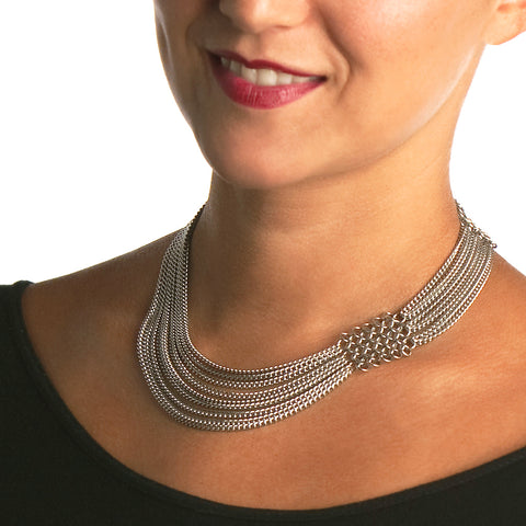SLINKY Asymmetrical Necklace