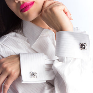 HIS Quatrefoil Cufflinks