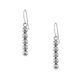 STRUCTURE Sphere Vertical Bar Earrings