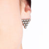 STRUCTURE Sphere Triangle Earrings