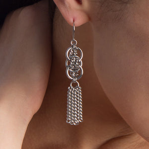 WOVEN Small Pattern Earrings