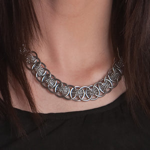 WOVEN Medium Pattern Necklace