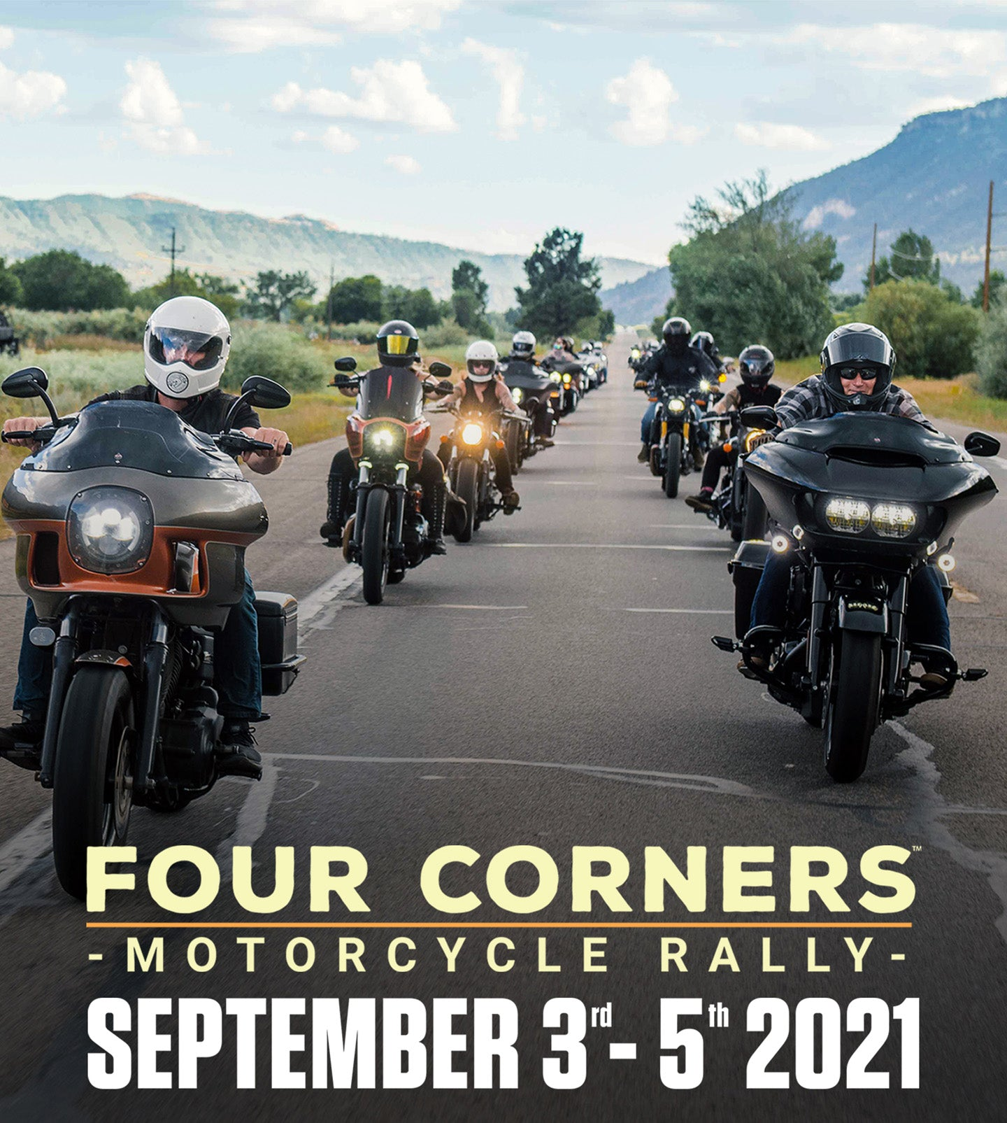 Four Corners Motorcycle Rally - September 3rd-5th 2021