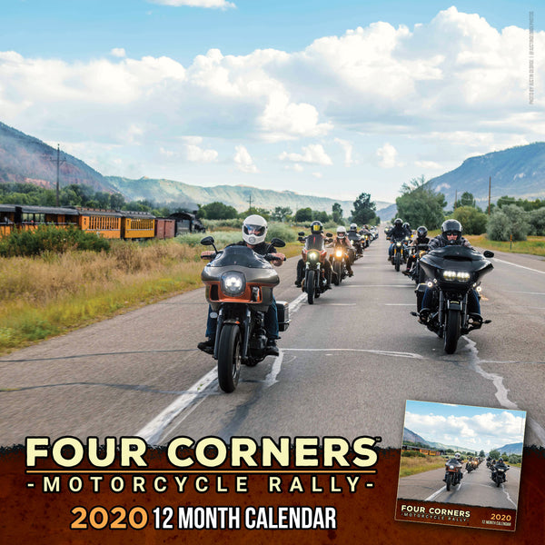 SOLD OUT! Four Corners Motorcycle Rally 2020 Calendar