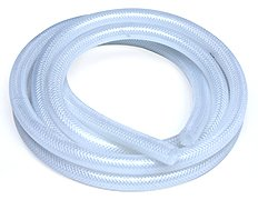 HPS High Temperature Reinforced Silicone Clear Braided Hose Tubing Coolant Breather Air overflow heater radiator
