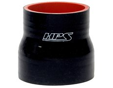 HPS High Temperature Reinforced Silicone Reducer Coupler Transition Hoses Black Blue