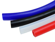 HPS High Temperature Silicone Vacuum Hose Tubing Coolant Breather Air overflow black blue red clear
