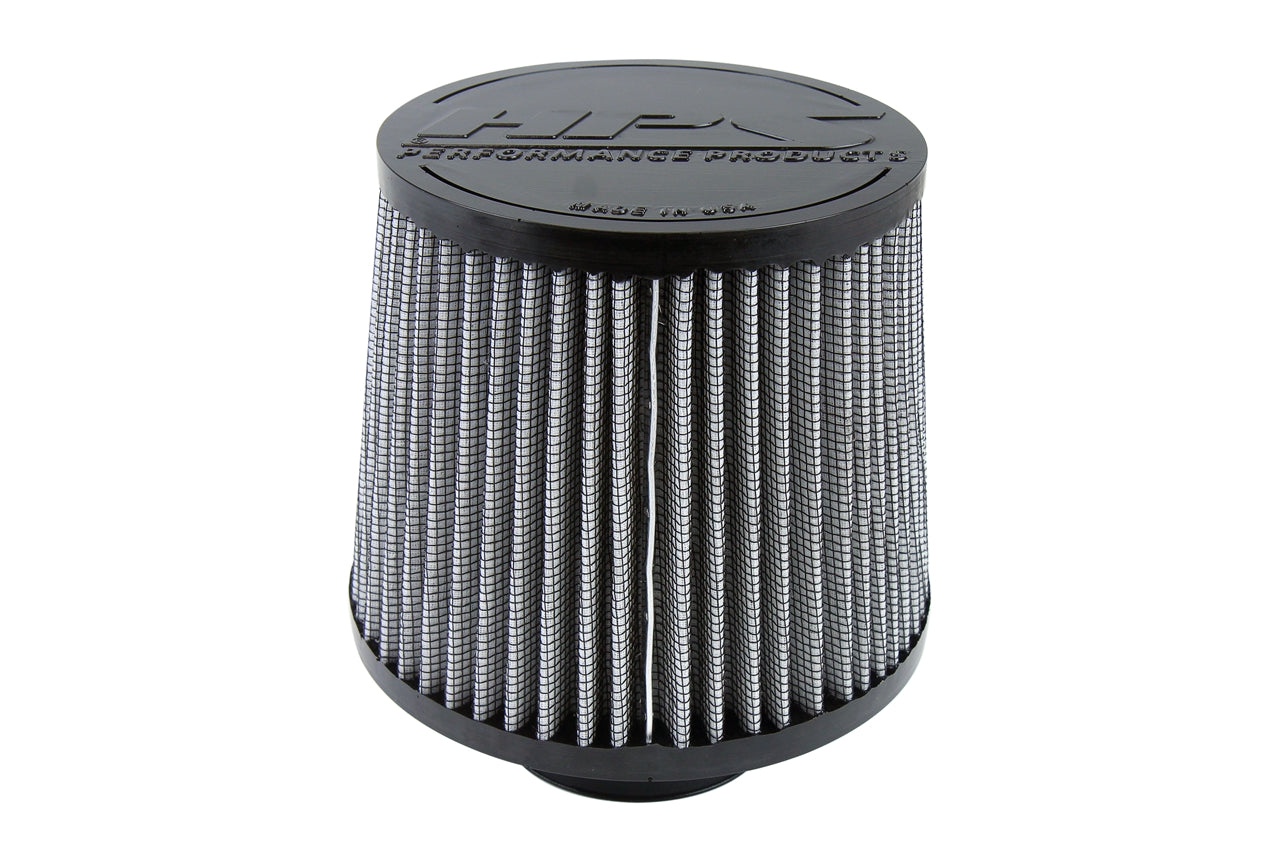 HPS Performance Air Filter 2.5 inch ID, 6 inch Length universal replacement intake kit shortram cold ram HPS-4274